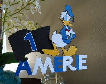 Donald Duck Centerpieces - Disney Inspired, Mickey Friends