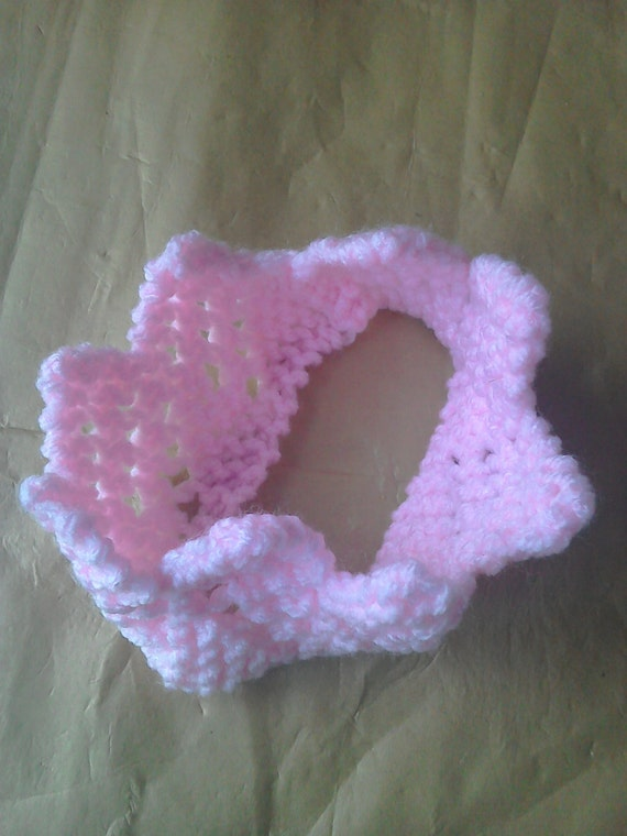 BABY CROWN KNITTING Pattern, Baby Photo Prop, Knitted ...