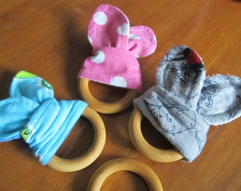 Wooden Teething Ring - Eco friendly