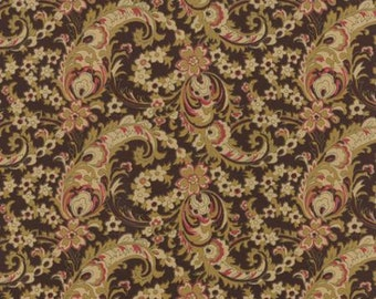 Hearts Content, Chocolate, by Laundry Basket Quilts, for Moda 42184 15