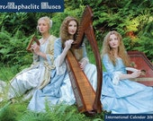 Pre-Raphaelite Muses International Calendar 2015 - A3 art calendar