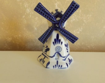 Delftware Hand Painted Windmill Vintage CL8-36
