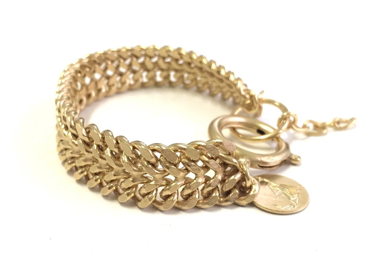 high roller bracelet gold stack chain bracelet stack by