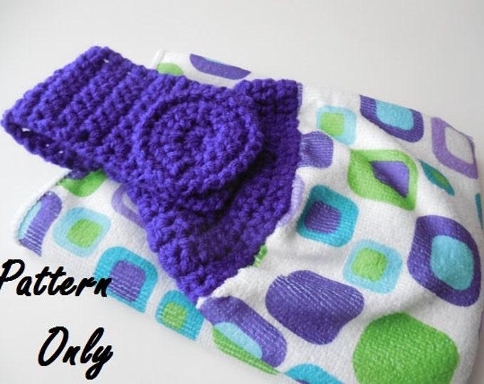 Pattern - Crochet Towel Topper Pattern - Crochet Pattern - Towel Topper - Instant Download
