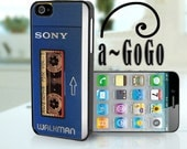 Sony Walkman Awesome Mix Tape iPhone 4, iPhone 5, Samsung S3, Samsung S4 case Custom iphone case