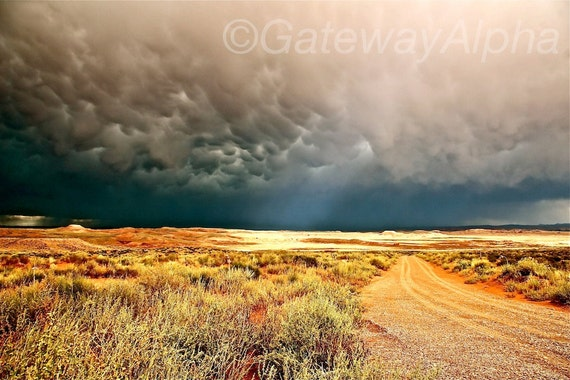 Storm Clouds Digital Download, Landscape Digital Photography, Storm Photography, Desert Digital Print, Utah Landscape Instant Download