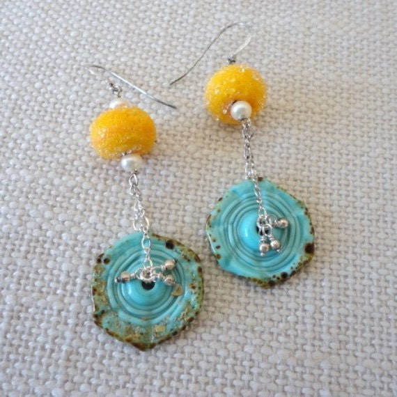 Handmade Spark Veroniquesjewelry Gemstone Beaded