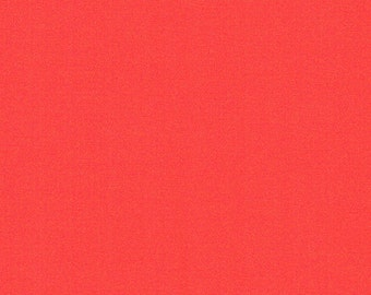 Coral Neon Knit Fabric by the yard Coral Neon solid Techno fabric Coral Neon Fabric by the yard - 1 Yard Style 412