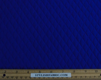 Royal Quilt Knit Jersey Stretch Fabric by the Yard - 1 Yard Style 471