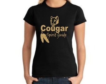 Cougar Spirit Guide Tshirt