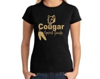 Cougar Spirit Guide Tshirt