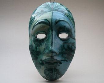 very rare Italian SKK Schiavon ceramic mask