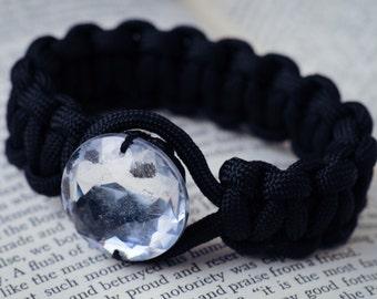 CUSTOM Oh Crystal Ball Paracord Bracelet