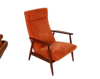Teak Lounge Chair Danish Modern Mid Century Modern