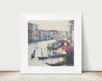 Venice photography Venice print Venice art Grand Canal photograph gondola photograph travel photography gondola print
