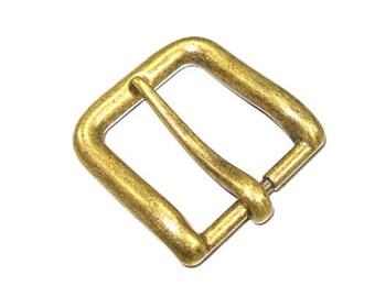 "1-1/4"" Wave Buckle (3.2 cm) Antique Brass Finish  1640-09"