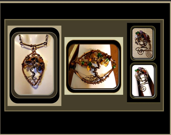 tree of life jewelry, cool cuff bracelets, healing jewelry, bangle bracelets, nature jewelry,zen jewelry, wicca jewelry, artistic jewelry