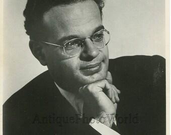 Julius Katchen American pianist vintage music photo