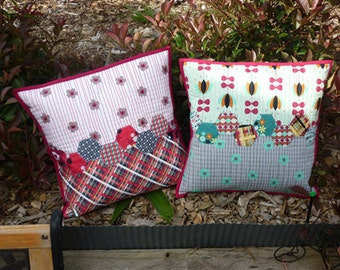 Stunning Patchwork quilted cushions (Price is for 1)