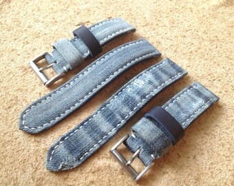 Blue Jeans or Destroyed Denim Two Piece n80 Leather