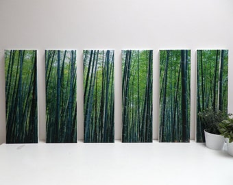 set of 6 canvases size 60x120cm (overall size)