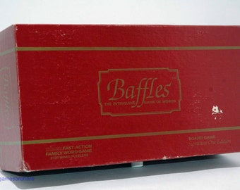 Baffles Game of Words from Chieftain 1986 COMPLETE