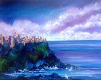 Dunluce  Castle, Co. Antrim, N. Ireland