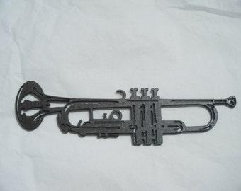 Wooden cut  trumpet