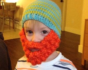 Kid's Beard Beanie