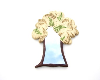 Decorative wall mirror  tree shaped,hippie furniture,decorative wall mirror