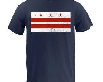 Washington DC Flag - Navy