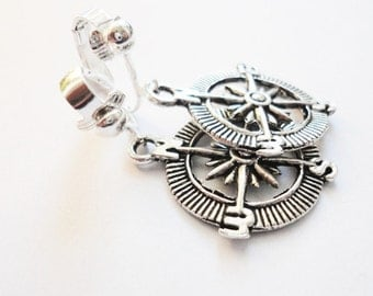 Ear clips Compass Maritime