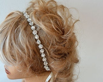 Wedding  Rhinestone Headband, Bridal Rhinestone Headband, Wedding Accessories, Hair Accessories for Wedding