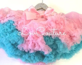 Deluxe full and fluffy Chiffon Pettiskirts 8 layers. You choose 2 colors