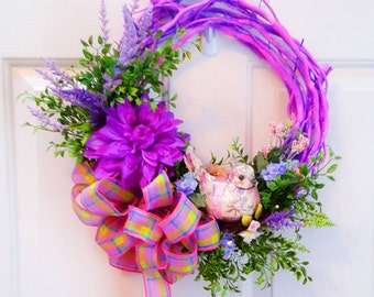 Spring Wreath, Summer Wreath, Grapevine Wreath