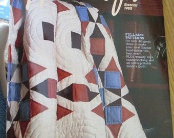 Country Handrafts Magazine 1985 Bazaar Crafts 40 Great Ideas
