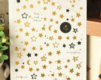 Shine like Star Sticker  - 1 Sheet
