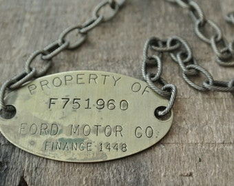 Items similar to vintage ford motor company car key ring for Ford motor company warranty information