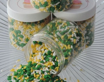 Lucky Shamrock Sprinkle Mix  for all your St. Patty's Day Treats