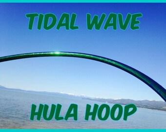 Tidal Wave Specialty Taped Practice Hoop -  By Colorado Hoops