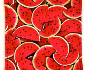 Watermelon - Potholder Set (Set of 2)