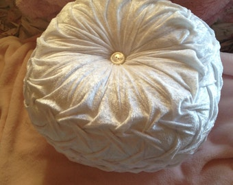 velour pillow-made to order