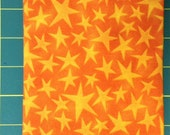 Orange Tonal Stars or Purple Tonal Stars Print Fabric by Maywood Studios - Cotton Fabric Yardage