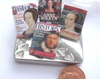 dollhouse magazines x4 history english queen king anne boleyn henry 8th