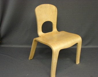 Bent Plywood Children's Chair