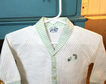 Vintage baby boy sweater