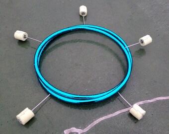 Metallic 5-Wick Fire Hoop