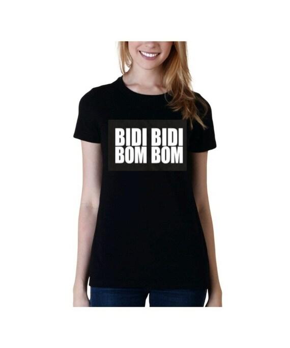 SALE! Selena T Shirt Bidi Bidi Bom Bom Black Women's Fitted TShirt Selena Y los Dinos