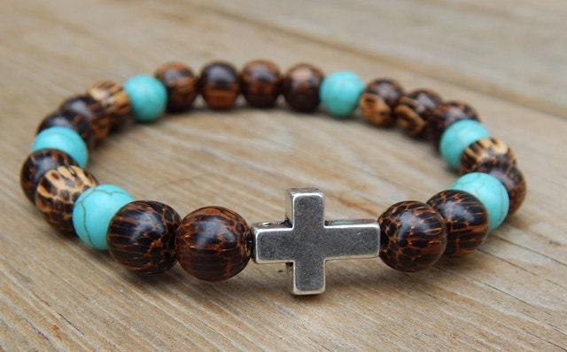 Men S Spiritual Bracelet Men S Cross Bracelet By