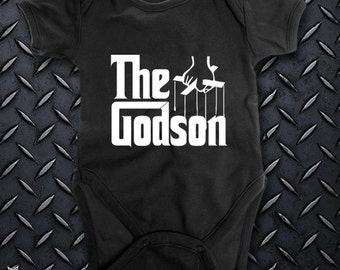 THE GODSON baby Bodysuit. One of a kind
